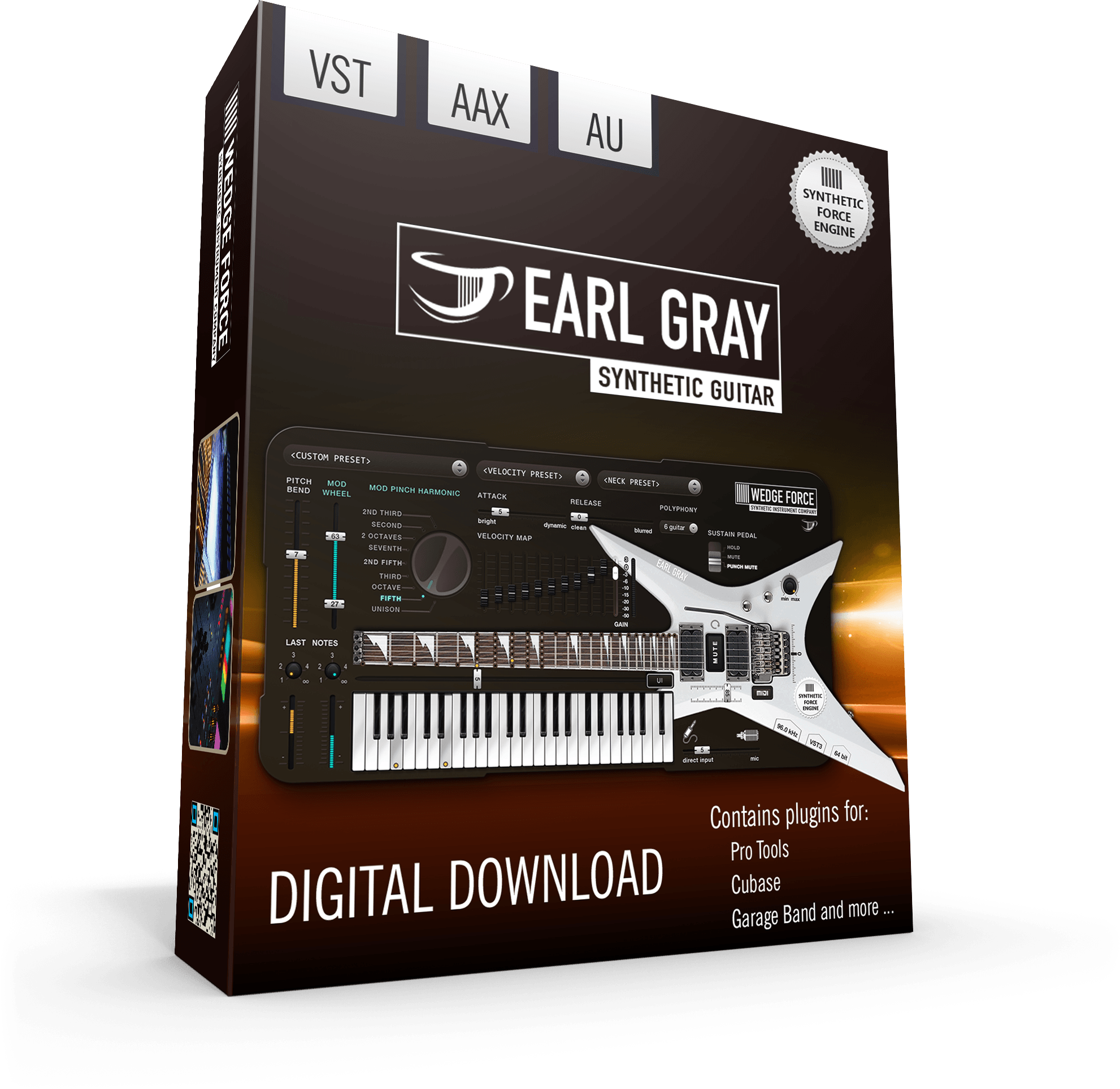 WEDGE FORCE Software Synthesizer Instruments » EARL GRAY Synthetic